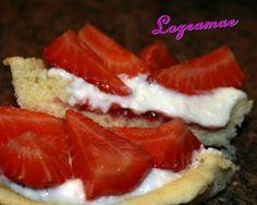 Lozeamae: Tarta de Requeson y Fresas Sin Gluten