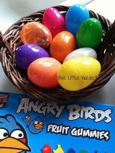 Angry Birds Treasure Hunt--Birthday Party Idea