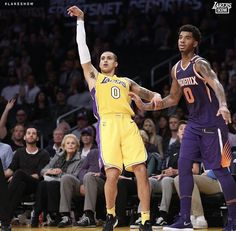 5ee0f8e94 Kyle Kuzma. Diego Torres · My Los Angeles Lakers