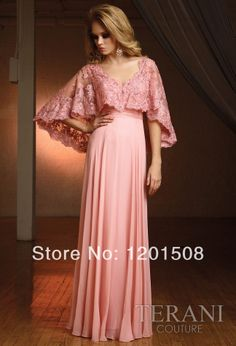 Fashion   Long Party Gowns Dress Chiffon Formal Beaded  Evening Dresses Free Shawl-in Evening Dresses from Apparel & Accessories on Aliexpre...