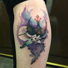 """Ein X-Wing im Flug.   28 """"Star Wars""""-Tattoos, durch die die Macht in Dir erwacht"""