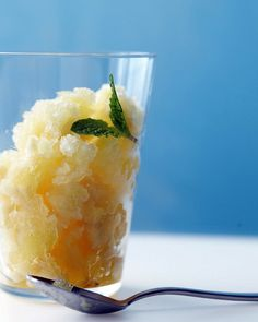 "Olaf is right -- yellow in snow is usually a ""no go,"" but don't let that stop you from enjoying this fruity, icy dessert. Bananas, oranges, pineapple, and lemon-lime soda give this tropical treat its golden hue."
