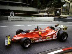 1980 Monaco Ferrari 312T5 Gilles Villeneuve