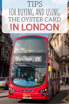 Guide to using the London Oyster card on public transit. Using an Oyster card, a credit card sized transport card, is an easy way to save time and money if you are planning to use public… Sightseeing London, London Travel, London England Travel, Inverness, Travel Guides, Travel Tips, Travel Checklist, Oyster Card, Romantic Travel