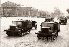 Csepel 800, amely egyes helyeken hol Cs-800, hol K-800, de találkoztam már B-800 elnevezéssel is, a második világháború után újjáéledő magyar hadiipar első és egyetlen lánctalpas harcjárműve volt. Sajnos erről az érdekes járműről se könyvben, se interneten néhány mondatnál… Budapest, Military Vehicles, Wwii, Tractors, Tanks, Army, History, Country, Soldiers