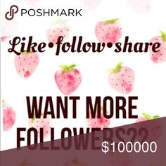😍🦄 NEW FOLLOW GAME! GROW YOUR FOLLOWERS 😍🦄 The easiest and most fun way to grow your followers! My last follow game filled up super fast so I'm finally making a new one!  Follow game rules: 1️⃣ like this post 2️⃣ share this post 3️⃣ follow everyone who has liked this post 4️⃣ don't forget to follow me, your humble game host 💁 5️⃣ tag your posh friends in the comments! 😊😊 have fun and happy sharing! J. Crew Bags