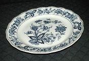 Nikko Harmony House Blue Bonnet Ironstone Platter Nikko, Blue Bonnets, Salad Plates, Serving Platters, Dinner Plates, Dinnerware, Decorative Plates, Contemporary, Antiques
