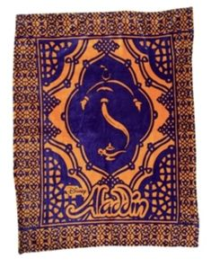 Super soft polar fleece plush blanket features our title art and design details pulled from the set design of Tony Award winner Bob Crowley. Aladdin Broadway, Tony Award Winners, Crowley, Polar Fleece, Set Design, Theatre, Musicals, Bob, Plush