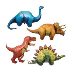 Hey, I found this really awesome Etsy listing at https://www.etsy.com/ca/listing/151565959/51-dinosaur-balloon-set-birthday-party