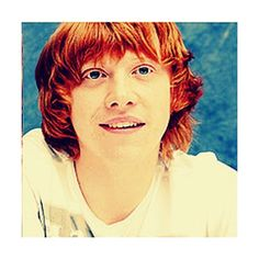 Rupert Grint Icon. {Grace Made}(; ❤ liked on Polyvore featuring harry potter, rupert grint, pictures, - pictures and actors