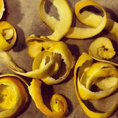 Ducks 'n a Row: How To Use Citrus Peels In Cleaning