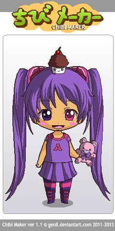 Jasmine :3 Chibi Maker, Jasmine, Anime, Fictional Characters, Art, Art Background, Anime Shows, Kunst, Anime Music