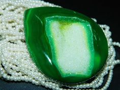 AAA.Quality Druzy Agate Cabochon-Extremely Beautiful- Large Size 52x44mm.Approx.Free Shipping