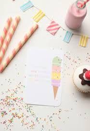 ice cream invitation - Google Search