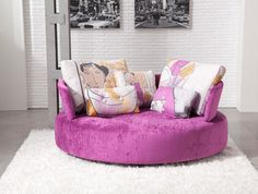 MyCuore is a unique piece of furniture, perfect for small apartments or large rooms.The perfect place for those couples or singles that are not satisfied with the usual sofas.