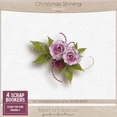 October 27: Daily Deal freebie cooordinating with Christmas Shining by  Valentina's Creation #freebie #thestudio #digitalscrapbooking #dailydeal