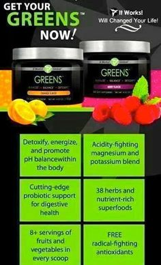Prevent the flu with Greens!!  www.leanandgreen.myitworks.com