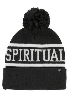 f05c559b768 Spiritual Gangster  SG Varsity  Pom Beanie - Midnight - YOGA REBEL  Spiritual Gangster