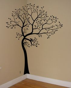 Large Big Tree Bird Wall Decaldeco Art Sticker Mural | eBay