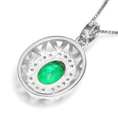 Fashion Gem Nano Emerald Pendant Necklace Only $32.89 => Save up to 60% and Free Shipping => Order Now! #Bracelets #Mystic Topaz #Earrings #Clip Earrings #Emerald #Necklaces #Rings #Stud Earrings