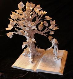 To Kill A Mockingbird Book Sculpture with Scout by wetcanvas on DeviantArt