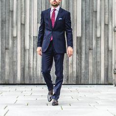 Klassisk blådress ! menswear.no/ #menswear_no #menswear #mensfashion #oslo #bogstadveien #tjuvholmen #lysaker #businessman #jobb #mensstyle #citystyle
