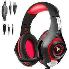 Beexcellent Gaming Headset With Mic For Playstation 4 Ps4 Pc Laptop Tablet  Xbox One - Surround Sound be5f8b9ffd44
