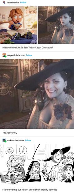 Resident Evil, Funny Cute, Really Funny, Hilarious, Stupid Funny Memes, Funny Posts, Vanitas, Wholesome Memes, Tumblr Posts