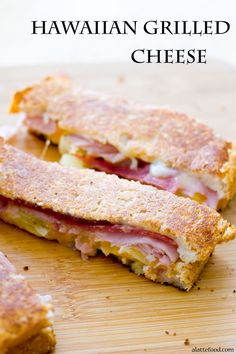 These dippers are packed with cheese, ham, bacon, and pineapple! | www.alattefood.com/