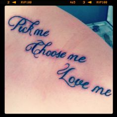 The Grey's mug was cool....A Grey's tattoo, about love..This is just creepy