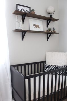 We're seeing black cribs trending the past fews months... what do you think?