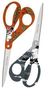 Moomin Scissors by Finnish brand Fiskars Kitchenware, Tableware, Tove Jansson, Girl Scout Crafts, Moomin, Nordic Design, Needful Things, Treasure Chest, Scissors