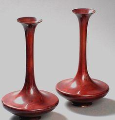 Ikea Wardrobe, Wood Carving Designs, Wooden Vase, Wood Candle Holders, Wood Turning Projects, Wood Lathe, Tea Light Holder, Bud Vases, Decoration