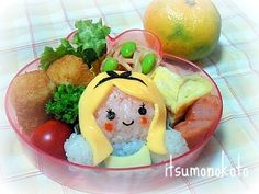 Alice's Adventures in Wonderland bento