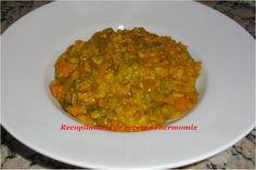 Amb carxofes i costelles porc Rice Recipes, Recipies, Pasta, Risotto, Curry, Healthy Eating, Ethnic Recipes, Blog, Ideas