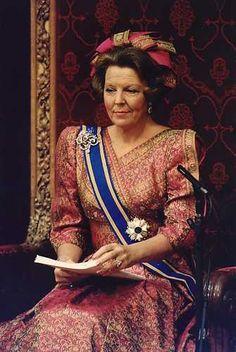 our former Queen ~ princess Beatrix