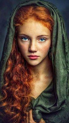 Art Photography Portrait, Fantasy Photography, Portrait Art, Beautiful Red Hair, Interesting Faces, Portrait Inspiration, Female Portrait, Girl Face, Redheads