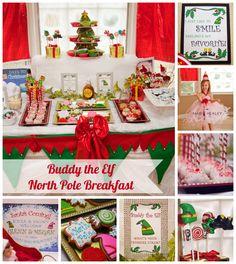 Buddy the Elf North Pole Breakfast