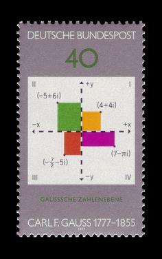 200th day of birth of Carl Friedrich Gauss, 1977