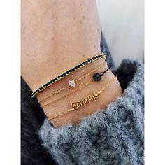 HAPPY Saturday #imaginjewels #bracelets #happy