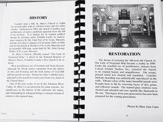 History of St Mary's Catholic Church, Altus, AR
