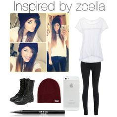 Inspired by zoella's outfit ♡