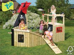 Forest Piratenschip voor kinderen | Emob