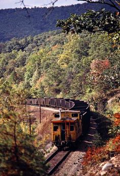 Chesapeake and Ohio Railway by John F. Bjorklund – Center for Railroad Photography & Art Railroad Photography, Art Photography, Train Tracks, Cincinnati Reds, Model Trains, Locomotive, Bridges, Railroad Tracks, American History