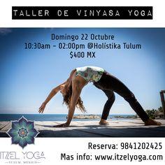 Taller de Vinyasa Yoga en Hol?stika Tulum