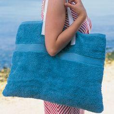 Beach-Towel Tote Bag