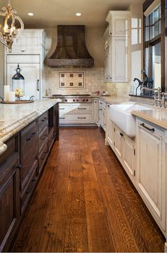 Distressed Rustic Kitchen.