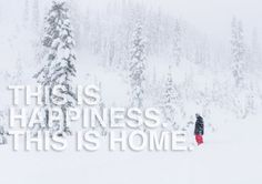 This is happiness. This is home.
