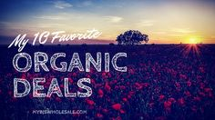My 10 Favorite Organic Deals for March - http://www.mybjswholesale.com/2016/03/my-10-favorite-organic-deals-for-march.html/