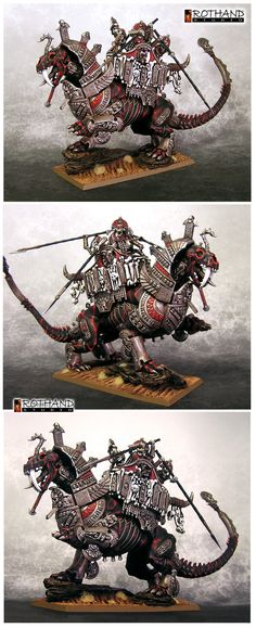 Rothand Studio: Tomb Kings Stalkers and Warsphinx - The Crimson Ki...